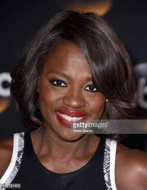Actress Viola Davis attends the Disney/ABC Television Group 2014 Television Critics Association Summer Press Tour at The Beverly Hilton Hotel on July...