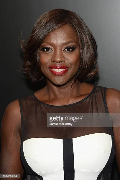 Actress Viola Davis attends the Entertainment Weekly ABC Upfronts Party at Toro on May 13 2014 in New York City