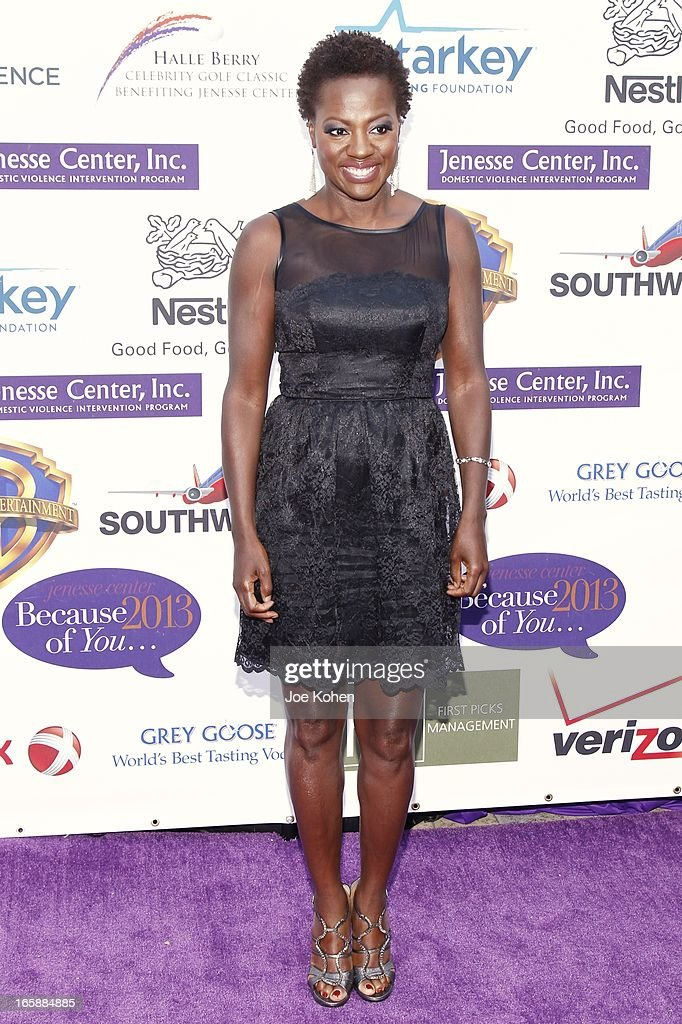 Actress Viola Davis attends the Jenesse Silver Rose Gala and Auction at Vibiana on April 6, 2013 in Los Angeles, California.