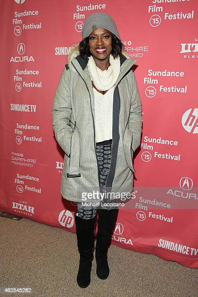 Actress Viola Davis attends the Lila And Eve Premiere during the 2015 Sundance Film Festival on January 30 2015 in Park City Utah
