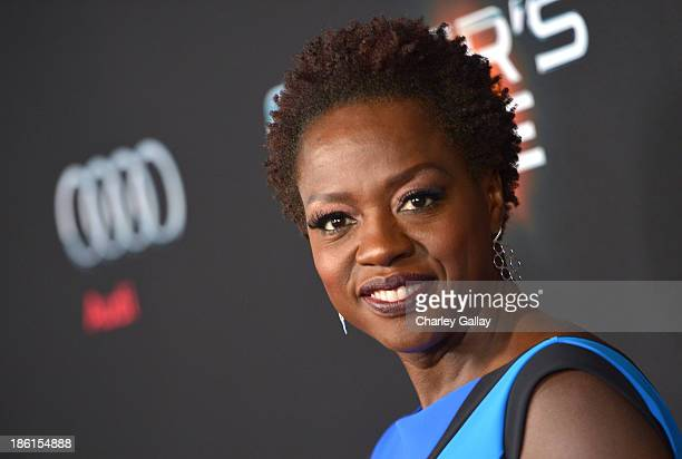Actress Viola Davis attends the premiere of Ender's Game presented by Audi at TCL Chinese Theatre on October 28 2013 in Hollywood California