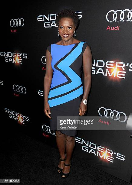 Actress Viola Davis attends the Premiere Of Summit Entertainment's Ender's Game at TCL Chinese Theatre on October 28 2013 in Hollywood California
