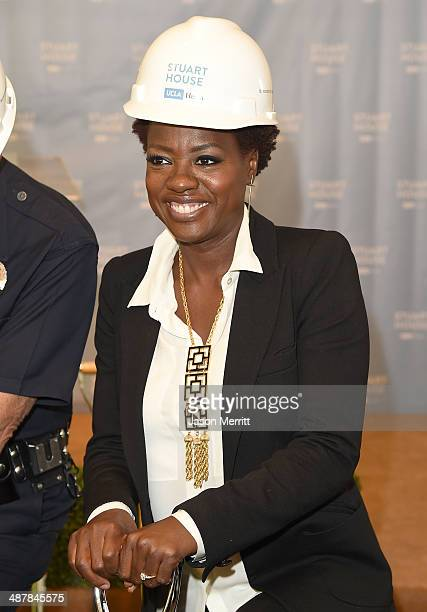 Actress Viola Davis attends The Rape Foundation's groundbreaking ceremony for construction of a New Stuart House for sexually abused children on May...