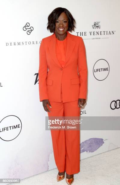 Actress Viola Davis attends the Variety's Power Of Women at the Beverly Wilshire Four Seasons Hotel on October 13 2017 in Beverly Hills California