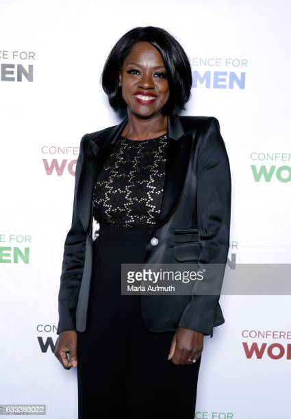 Actress Viola Davis attends the Watermark Conference for Women at San Jose Convention Center on February 1 2017 in San Jose California