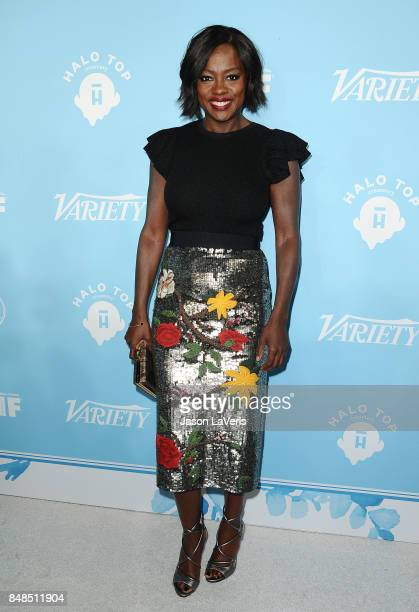 Actress Viola Davis attends Variety and Women In Film's 2017 preEmmy celebration at Gracias Madre on September 15 2017 in West Hollywood California