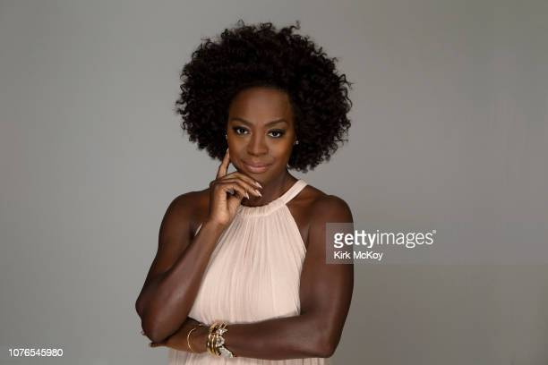Actress Viola Davis is photographed for Los Angeles Times on December 20, 2018 in Bel Air, California. PUBLISHED IMAGE. CREDIT MUST READ: Kirk...