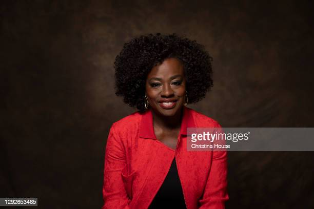 Actress Viola Davis is photographed for Los Angeles Times on November 11, 2020 in Los Angeles, California. PUBLISHED IMAGE. CREDIT MUST READ:...