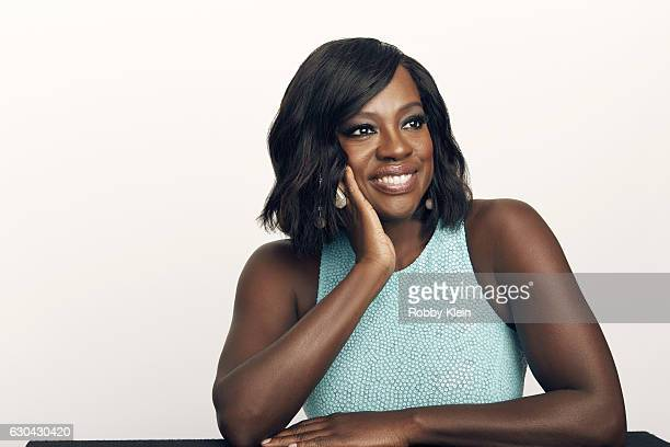 Actress Viola Davis poses for a portrait during the 2016 Critics Choice Awards on December 11 2016 in Santa Monica California