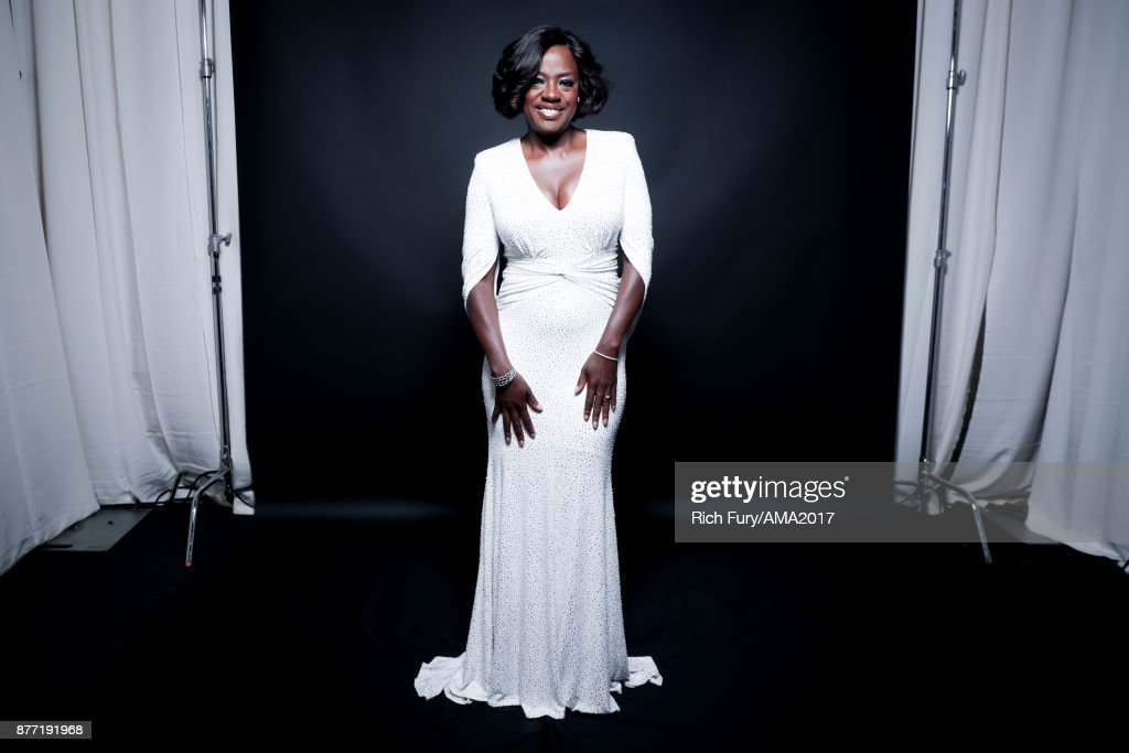 Actress Viola Davis poses for a portrait during the 2017 American Music Awards at Microsoft Theater November 19, 2017 in Los Angeles, California.