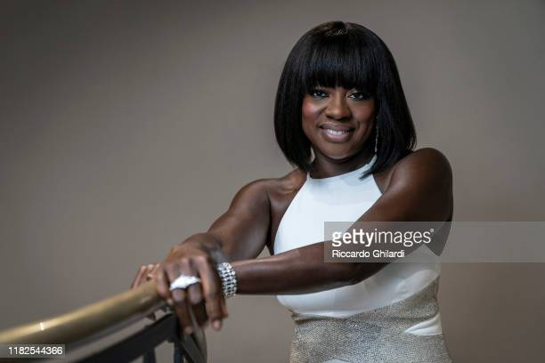 Actress Viola Davis poses for a portrait on October 26, 2019 in Rome, Italy.