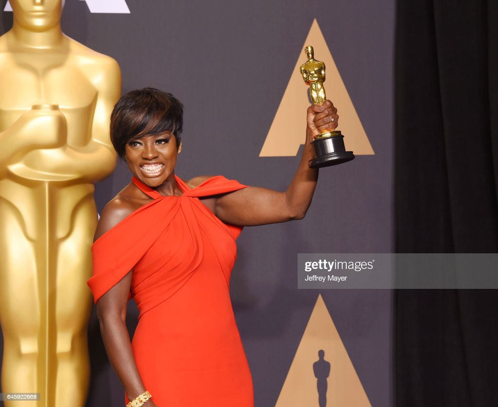 Actress Viola Davis, winner of the award for Actress in a Supporting Role for 'Fences,' poses in the press room during the 89th Annual Academy Awards at Hollywood & Highland Center on February 26, 2017 in Hollywood, California.