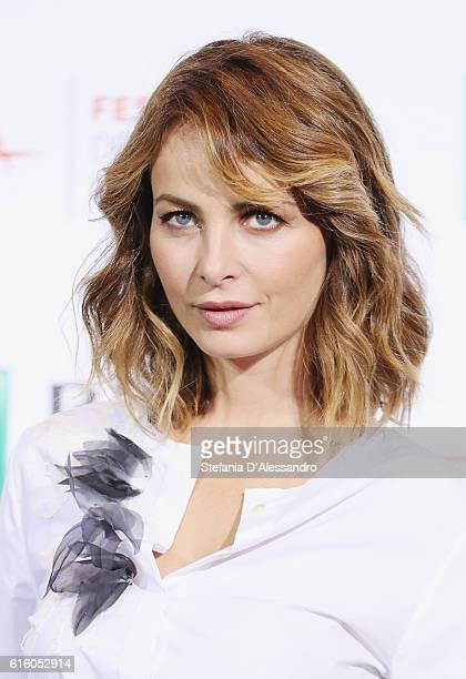 Actress Violante Placido attends a photocall for '7 Minuti' during the 11th Rome Film Festival at Auditorium Parco Della Musica on October 21 2016 in...