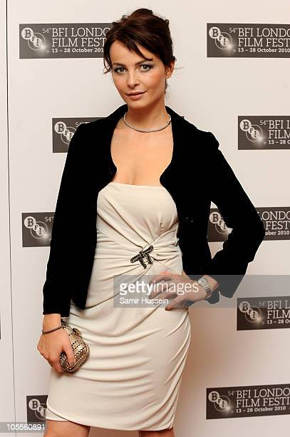 Actress Violante Placido attends The American premiere during the 54th BFI London Film Festival at the Vue West End on October 16 2010 in London...