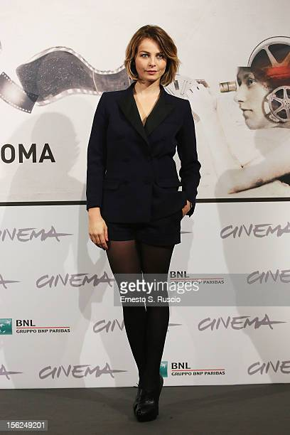 Actress Violante Placido attends 'The Lookout' Photocall during the 7th Rome Film Festival at the Auditorium Parco Della Musica on November 12 2012...