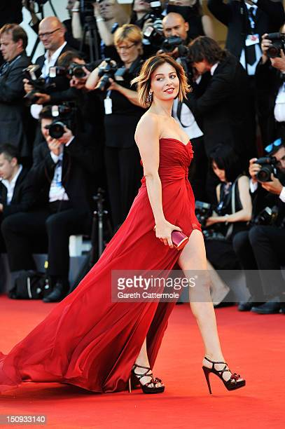 Actress Violante Placido attends The Reluctant Fundamentalist Premiere And Opening Ceremony during the 69th Venice International Film Festival at...