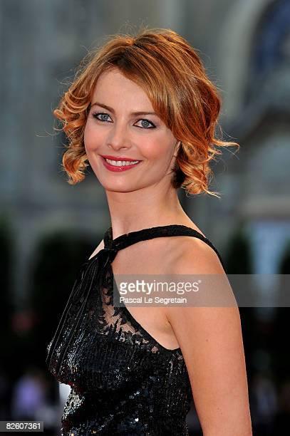 Actress Violante Placido attends the 'Un Giorno Perfetto' film premiere at the Sala Grande during the 65th Venice Film Festival on August 30 2008 in...