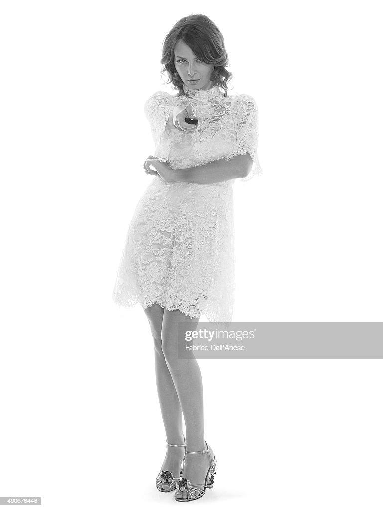 Violante Placido, Vanity Fair - Italy, November 2013 : News Photo