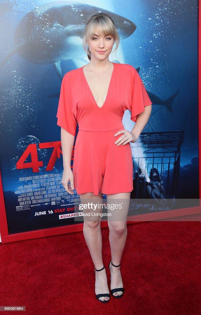 Premiere Of Dimension Films' '47 Meters Down' - Arrivals : ニュース写真