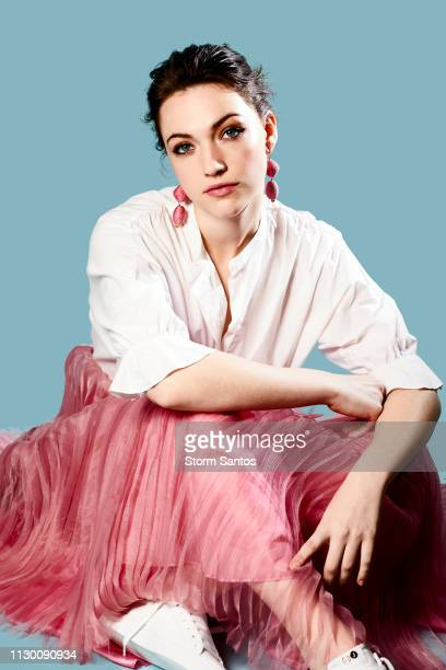 Actress Violett Beane is photographed for Pulse Spikes Magazine on February 20 2018 in Los Angeles California PUBLISHED IMAGE