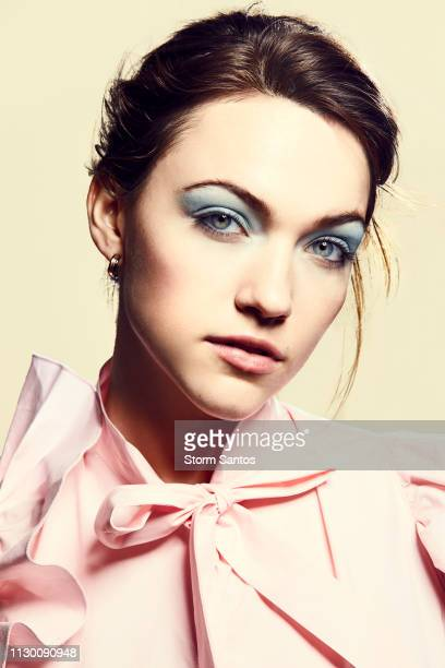Actress Violett Beane is photographed for Pulse Spikes Magazine on February 20 2018 in Los Angeles California