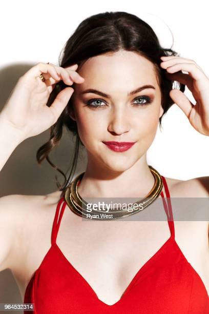 Actress Violett Beane is photographed in April 2016 in Los Angeles California