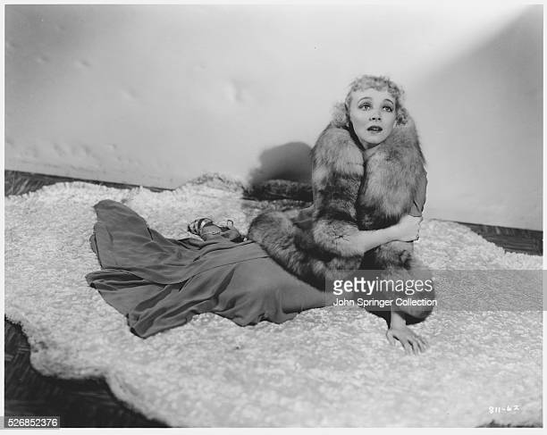 Actress Virginia Bruce in the movie Shadow of a Doubt