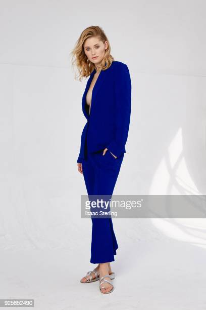 Actress Virginia Gardner is photographed for The Laterals on November 21 2017 in Los Angeles California PUBLISHED IMAGE