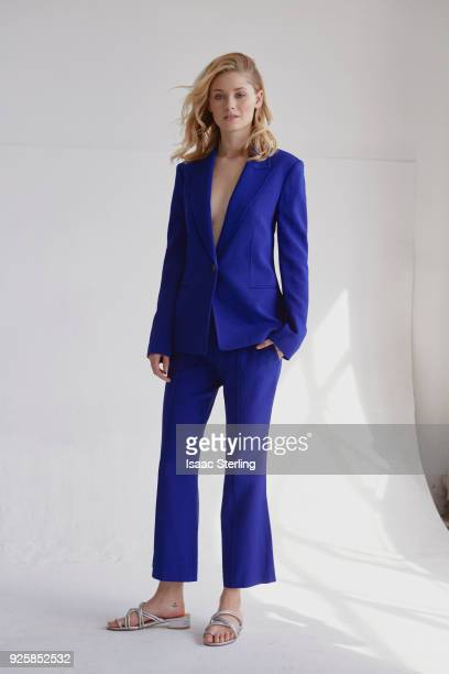 Actress Virginia Gardner is photographed for The Laterals on November 21 2017 in Los Angeles California