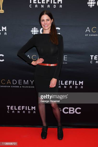 Actress Virginia Kingston attends the 2019 Canadian Screen Awards Broadcast Gala at Sony Centre for the Performing Arts on March 31 2019 in Toronto...
