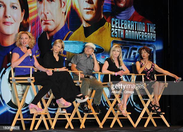Actress Virginia Madsen actress Hallie Todd actor Michael Snyder actress Lisa Wilcox and actress Lycia Naff participate in the 11th Annual Official...
