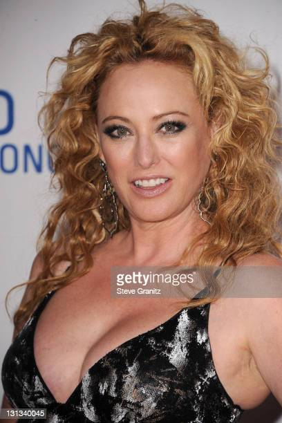 Actress Virginia Madsen Arrives At The 18th Annual Race To Erase Ms At The Hyatt Regency