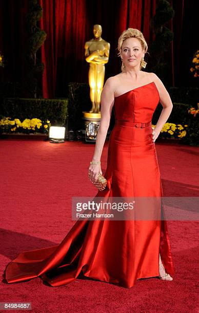 Actress Virginia Madsen arrives at the 81st Annual Academy Awards held at Kodak Theatre on February 22 2009 in Los Angeles California