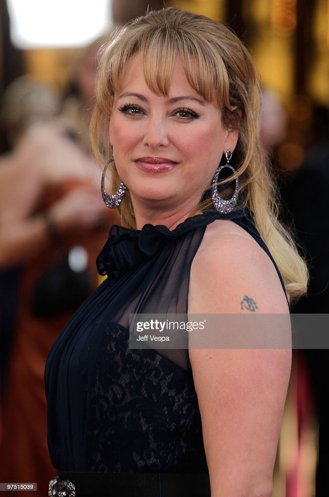 Actress Virginia Madsen arrives at the 82nd Annual Academy Awards held at the Kodak Theatre on March 7, 2010 in Hollywood, California.