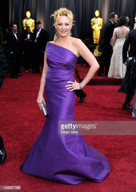 Actress Virginia Madsen arrives at the 84th Annual Academy Awards held at the Hollywood Highland Center on February 26 2012 in Hollywood California