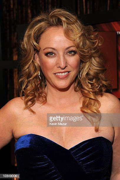 Actress Virginia Madsen arrives on the red carpet at VH1's 14th Annual Critics' Choice Awards held at the Santa Monica Civic Auditorium on January 8,...