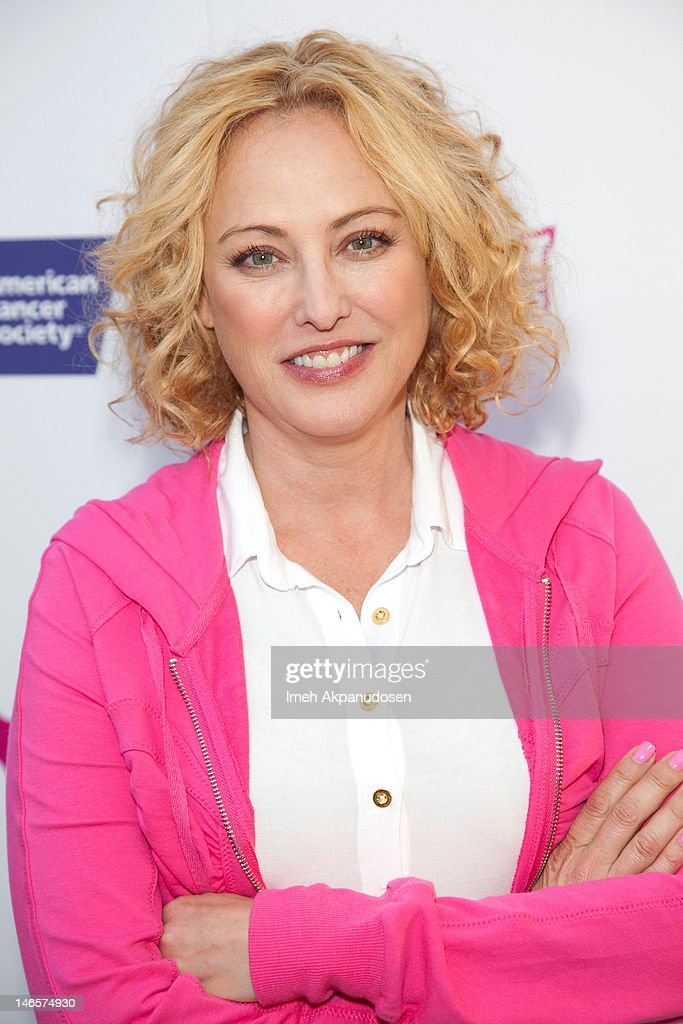 Actress Virginia Madsen attends the cast of 'Hot Flashes' and The American Cancer Society celebrate 'Blow Out Cancer' event at Montage Beverly Hills on June 19, 2012 in Beverly Hills, California.