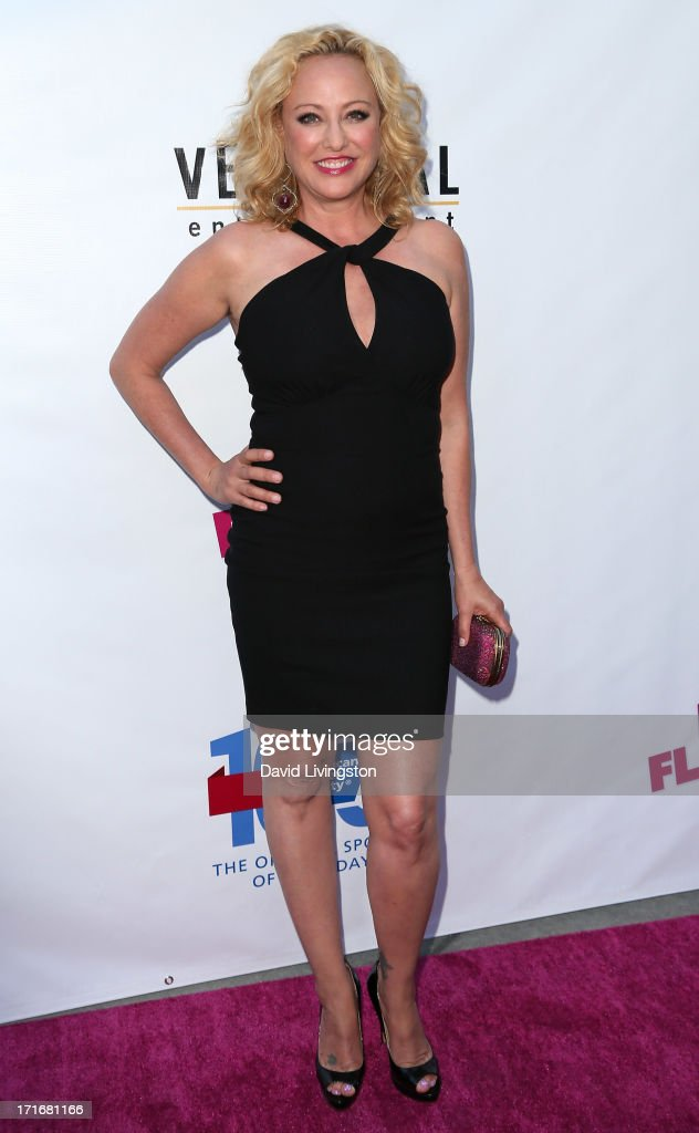 Actress Virginia Madsen attends the premiere of 'The Hot Flashes' at ArcLight Cinemas on June 27, 2013 in Hollywood, California.