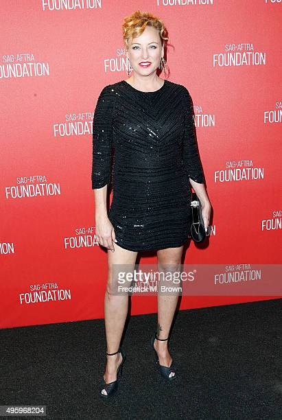 Actress Virginia Madsen attends the Screen Actors Guild Foundation 30th Anniversary Celebration at the Wallis Annenberg Center for the Performing...