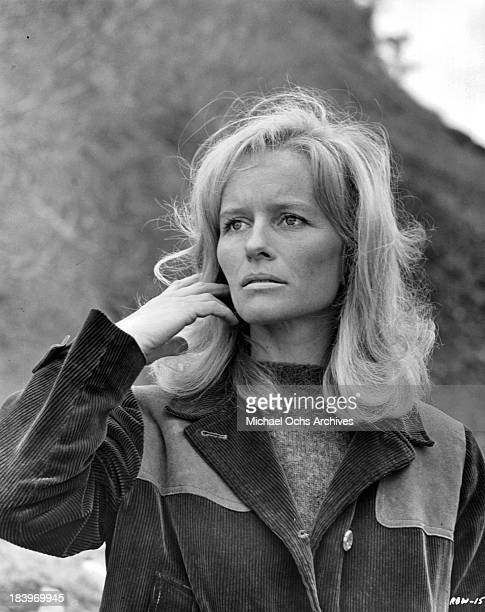 Actress Virginia McKenna on set of the movie 'Ring of Bright Water' in 1969
