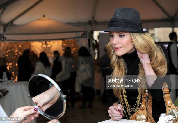 Actress Virginia Williams attends Silpada at Kari Feinstein's Academy Awards Style Lounge at Montage Beverly Hills on February 25 2011 in Beverly...