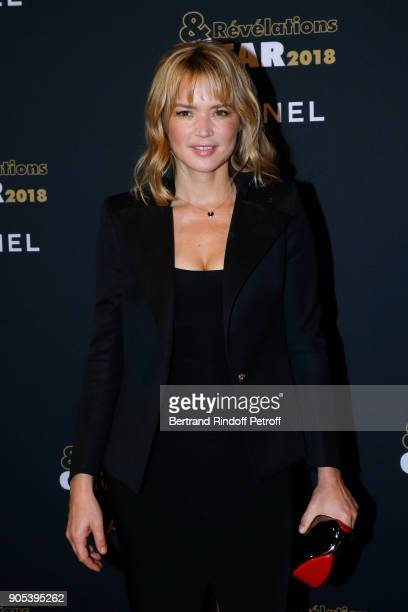 Actress Virginie Efira attends the 'Cesar Revelations 2018' Party at Le Petit Palais on January 15 2018 in Paris France