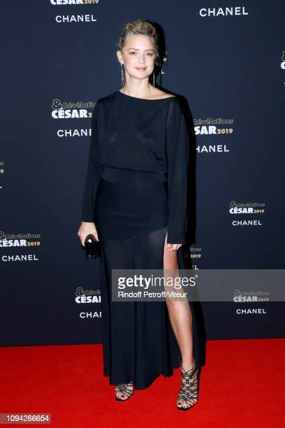 Actress Virginie Efira attends the 'Cesar Revelations 2019' at Le Petit Palais on January 14 2019 in Paris France