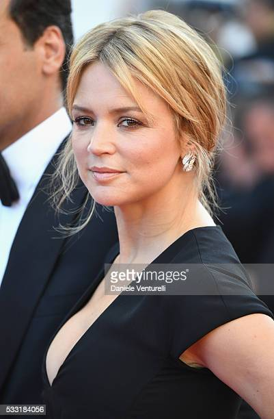 Actress Virginie Efira attends the Elle Premiere during the 69th annual Cannes Film Festival at the Palais des Festivals on May 21 2016 in Cannes...