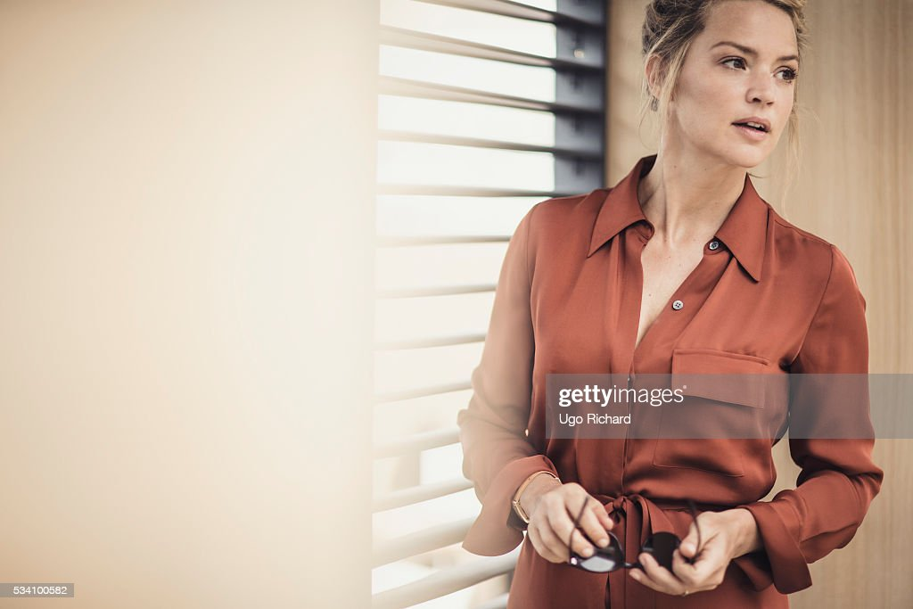 Actress Virginie Efira is photographed for Gala on May 15, 2016 in Cannes, France.