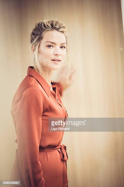 Actress Virginie Efira is photographed for Self Assignment on May 15 2016 in Cannes France