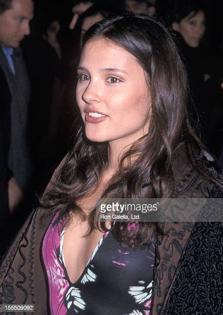 Actress Virginie Ledoyen attends The Beach New York City Premiere on February 6 2000 at the DGA Theatre in New York City