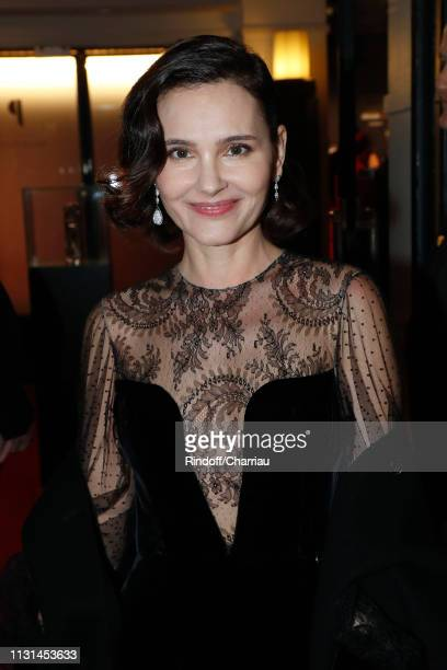 Actress Virginie Ledoyen attends the Cesar Film Awards 2019 at Salle Pleyel on February 22 2019 in Paris France