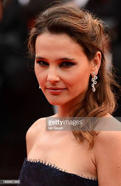 Actress Virginie Ledoyen attends the 'Jeune Jolie' premiere during The 66th Annual Cannes Film Festival at the Palais des Festivals on May 16 2013 in...