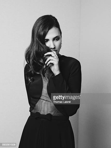 Actress Virginie Ledoyen is photographed for Self Assignment on May 17, 2015 in Cannes, France.